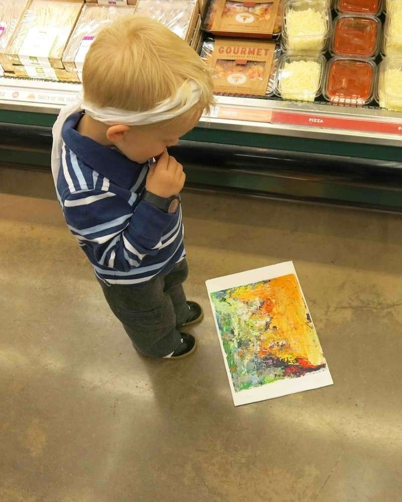 Kid looking at Critically under theorized