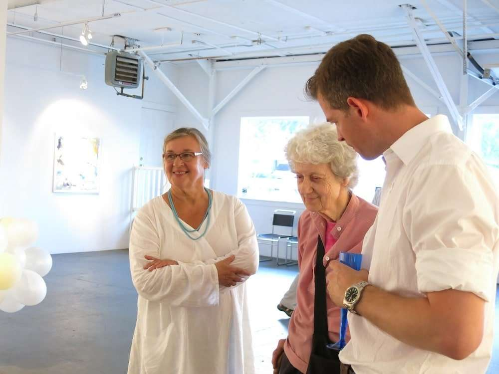 with Lois Dodd and Yvette Torres, Yvette Torres Fine Art, 2013